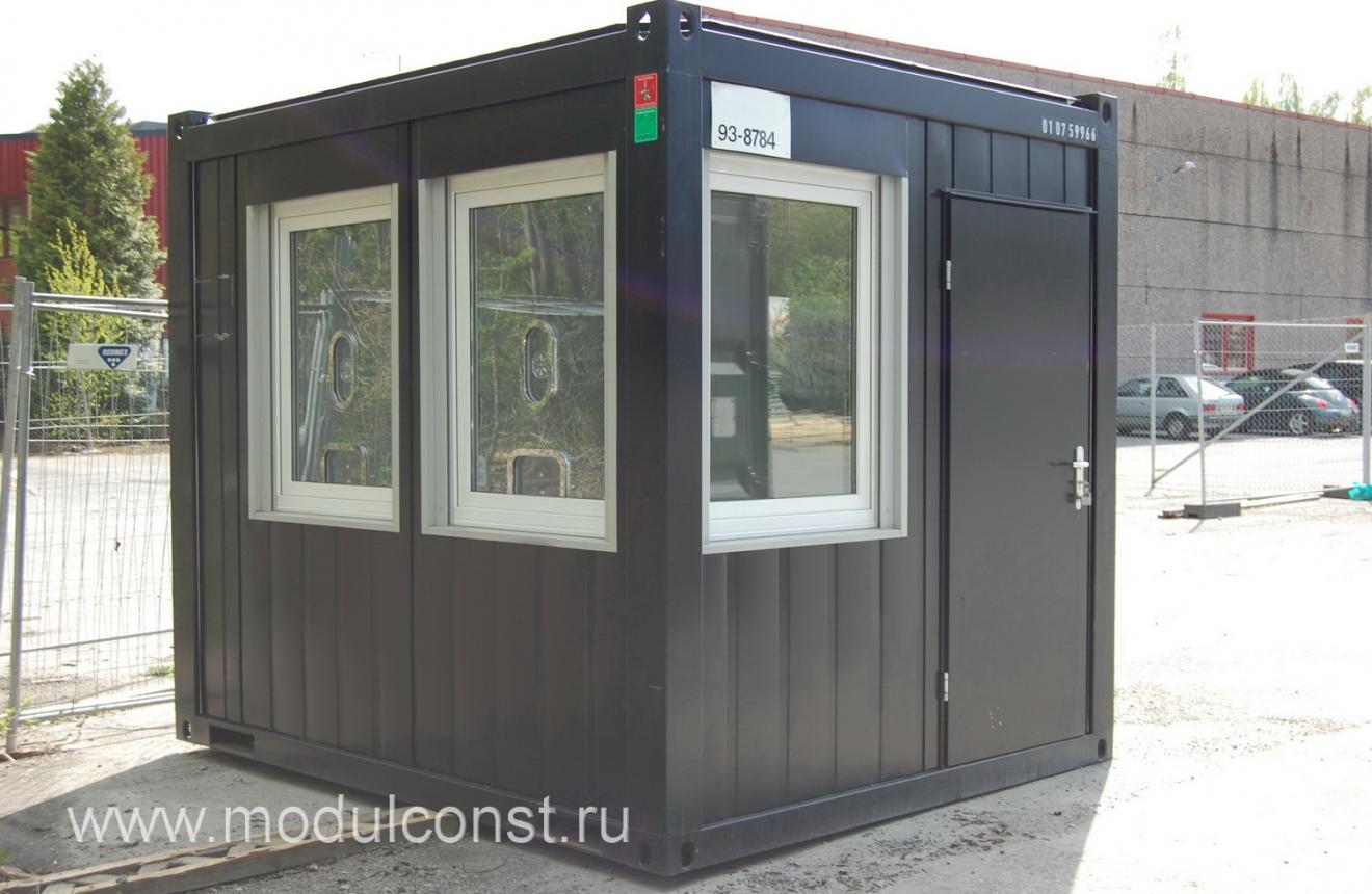 Модульное здание КПП ПКФ Фактор КПП Фактор 2